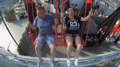 Over the edge at Adamlookout Swings, Latest Video, Channel, Play, Videos, Youtube, Travel, Voyage, Swing Set Hardware
