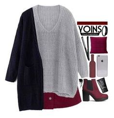 """""""Yoins 2.12"""" by emilypondng ❤ liked on Polyvore featuring H&M, Muuto, NARS Cosmetics, Hourglass Cosmetics, women's clothing, women, female, woman, misses and juniors"""