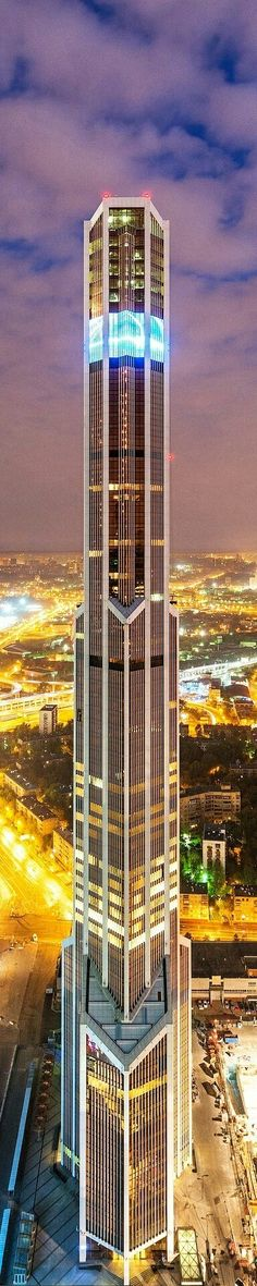 Mercury City Tower - Moscow, Russia