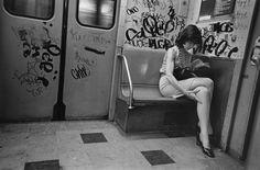 Joni Sternbach: The Passengers. The New York City Subway, 1975 - 1980. Source