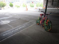 Vélo en tricot Brooklyn- Warm Bombing | par Felix Gravel