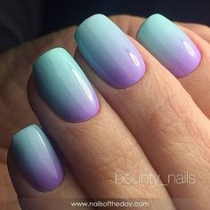 Semi-permanent varnish, false nails, patches: which manicure to choose? - My Nails Ombre Nail Designs, Nail Polish Designs, Cool Nail Designs, Nails Design, Ombre Nail Art, Glitter Ombre Nails, Gel Polish, Sns Nails Colors, Nagel Hacks