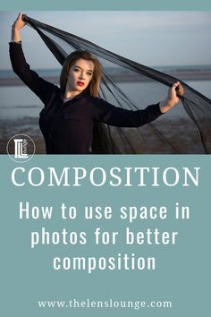 How to use positive space and negative space in photography composition. Balance positive space, the subject, with negative space, the background in photos. Maternity Photography Tips, Portrait Photography Tips, Space Photography, Senior Photography, Photography Composition Rules, Implied Photography, Exposure Photography, Photography Tips For Beginners, Photography Tutorials