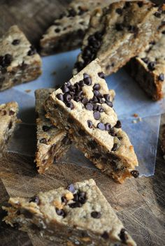 do-not-touch-my-food:  Peanut Butter Oatmeal Cookie Bars