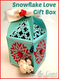 Snowflake Love Gift Box