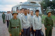 32 U. Prisoners of War held by the North Vietnamese are released at Hanoi's Gia Lam Airfield on March (AP Photo/Horst Faas) Vietnam War North Vietnam, Vietnam Veterans, Vietnam War, First Indochina War, Missing In Action, M48, Vietnam History, My War, Prisoners Of War