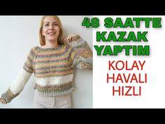 Youtube, Sari, Sweaters, Pullover, Knitting, Crochet, Tops, Knits, Women