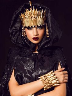 Gallery - Maram & Aabroo Brings Sleek Artistry to the Makeup World High Fashion Photography, Editorial Photography, Pakistani Makeup, Native Wears, Vampire Girls, Louvre, African Beauty, African Fashion, Arabian Nights