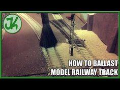 ▶ How to ballast model railway track - YouTube Ho Trains, Model Trains, Train Miniature, Barn Wood Crafts, Standard Gauge, Great Hobbies, Model Train Layouts, Top Videos, Best Model