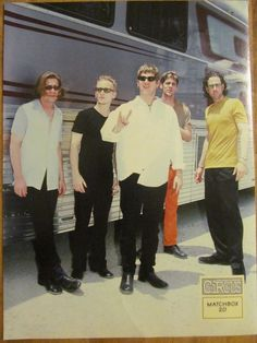 Matchbox 20, Rob Thomas, Double Sided Full Page Vintage Pinup