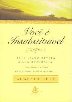 Você é Insubstituível - Augusto Cury  tem me dado calma nas hrs difíceis; está me fazendo me enxergar mais... Mto bom livro! Agradeço à minha irmã por esse presente!