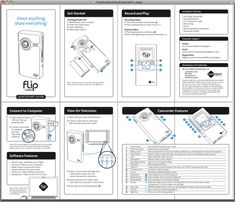 – Task 1 – Good and Bad Instruction Manual Brochure Design Inspiration, Book Design Layout, Layout Inspiration, Page Layout, App Design, Modelo Canvas, Leaflet Layout, Technical Illustration, Instructional Design