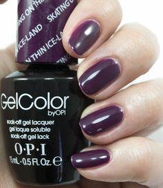 OPI GelColor Skating on Thin Ice-land