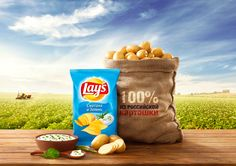 Lay's on Behance Creative Advertising, Advertising Design, Product Advertising, Advertising Ideas, Chip Packaging, Food Packaging, Interactive Web Design, Snack Recipes, Snacks