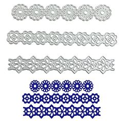 Julyshop 3PcsSet Flower Lace Metal Embossing Cutting Dies For DIY Scrapbooking Paper Card * Check out this great product.Note:It is affiliate link to Amazon.