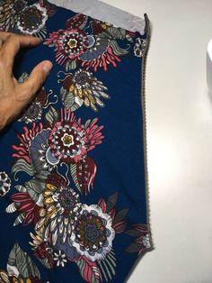 Mønster på simpel sommertop. | Sygal Sewing Blouses, Shirt Blouses, Shirts, Boho Shorts, Pink, Detail, Hobbies, Design, Women