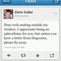 Chris Colfer!!!!!!!!!