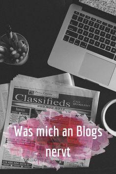 Was mich an Blogs nervt - Diese Liste könnte ziemlich lang werden, deshalb grenze ich sie nur auf die sieben Punkte ein, die mich ganz besonders stören.
