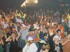 Warehouse Days Of Glory - vintage photos of the 1990s underground club/rave scene. 90s rave culture photos