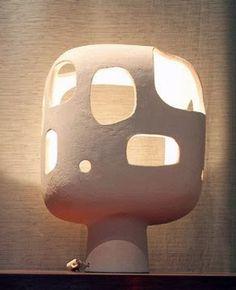 Ceramic Lamp | Andre-Aleth Masson | Mid Century Modern                                                                                                                                                                                 More