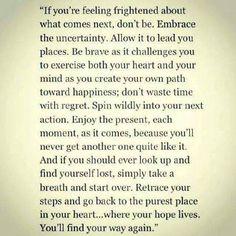 Flow home...