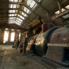 Abandoned powerstation - turbine - Paris, France - Ha! | fresh | urban exploration | sleepycity.net