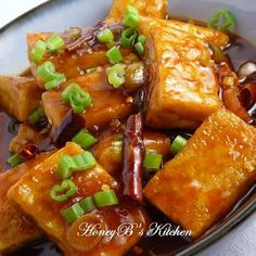 """""""General Tso's Tofu  adapted from La Table de Nana  (I am trying this tonight)"""" Not bad... ends up that cornstarch was the missing link in getting my tofu crunchy. I added lots of spice and my kitchen smelled like I ordered out. some slight tweeking required, but overall, I count this as a win."""