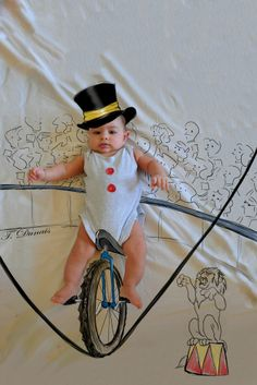 Unicycle Cute Little Baby, Little Babies, Bless The Child, Unicycle, Vintage Circus, Little Darlings, Our Kids, Baby Boy Outfits, Biking