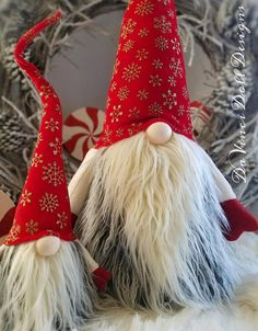 Extra LARGE Scandinavian Christmas Gnome Whimsical Tomte
