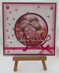 Tinyrose's Craft Room: Unicorn Challenge Blog - the theme Love/ Valentine...