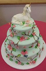 unicorn wedding cake - Google Search