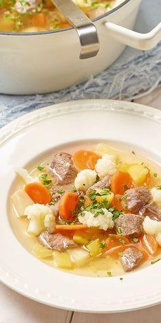 Die bunte Rindfleisch-Suppe ist das perfekte Gericht, wenn du eine Feier geplant hast. Ob als Vor- oder Hauptspeise - diese leckere Suppe wird deine Gäste auf jeden Fall begeistern! Mit Blumenkohl und Kartoffeln ist sie ein wahrer Gaumenschmaus.