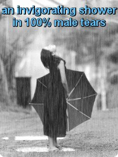 an invigorating shower in 100% male tears -gif-
