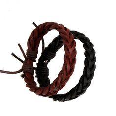 2017 New Arrival Simple Designer Women Wrap Bracelets Genuine Leather Braided Bracelet Vintage Hiphop Girl Jewelry Accessories