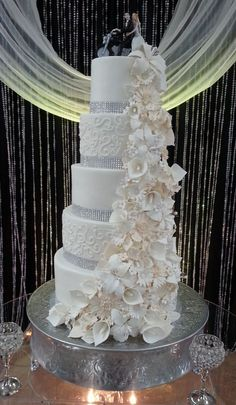 3 feet tall Wedding Cake