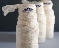 easy kids crafts DIY halloween mummy