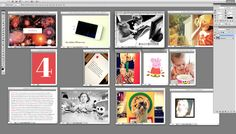 genius idea on how to arrange project life pages when designing a layout.