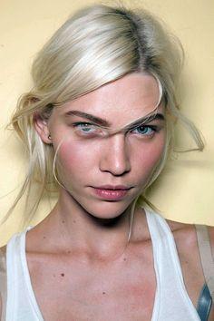 Helmut Lang Fall 2012, model: Aline Weber