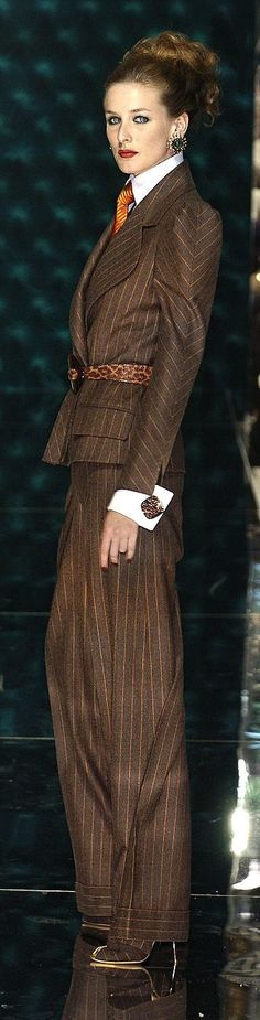 Farb-und Stilberatung mit www.farben-reich.com - can't wait for Fall/Winter!! loving these suits and 30s 40s vibe