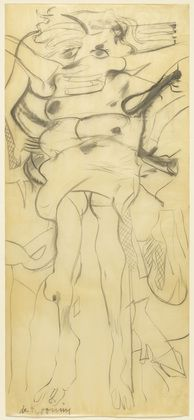Willem De Kooning Woman 1965 Charcoal on transparentized paper x 35 x cm) The Museum of Modern Art, New York. Life Drawing, Drawing Sketches, Drawings, Sketching, Figure Drawing, Willem De Kooning, Expressionist Artists, Abstract Expressionism, Rotterdam