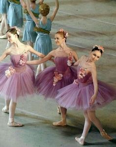 jeunes ballerines