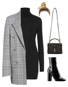 """""""Sans titre #2126"""" by frenchystyle ❤ liked on Polyvore featuring Equipment, Alexander Wang, Louis Vuitton and Yves Saint Laurent #estilochic"""