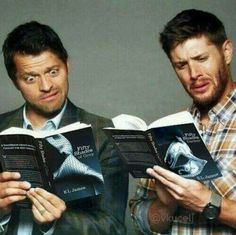 Hahaha!  Misha and Jensen