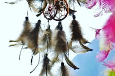 Let those bad dreams be caught in the Web and the good dreams flow down the feathers. Dream Catcher Kit, Dream Catcher Tutorial, Winter Art Projects, Diy Projects, Crafts For Kids, Arts And Crafts, Bad Dreams, Recycled Fabric, Unusual Gifts
