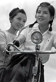 Yoshinaga Sayuri (吉永小百合, at right) 1945-, Japanese Actress