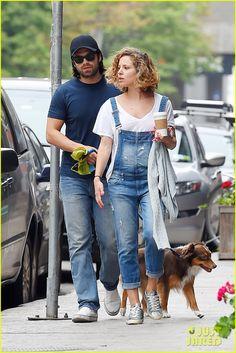 Sebastian Stan & Margarita Levieva (May 28th, 2015) in the Tribeca neighborhood of New York City.