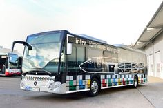 Mercedes-Benz Citaro -  Franconian transport operator infra fürth gmbh aims to boost its image with both attractive livery and cutting-edge features.  #mercedes #benz #bus #ciaro #mbhess #mbbus