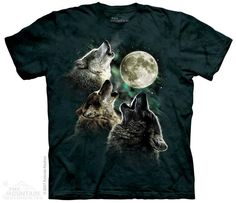 The Mountain - Three Wolf Moon Classic T-Shirt, $20.00 (http://shop.themountain.me/products/Three-Wolf-Moon.html)