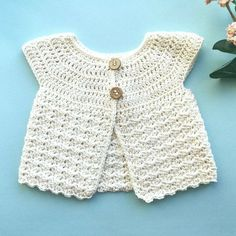 Crochet Baby Sweaters, Crochet Baby Cardigan, Newborn Crochet, Crochet Gifts, Crochet Clothes, Crochet For Kids, Free Crochet, Knit Crochet, Baby Barn