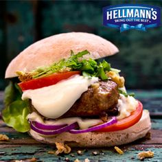 Burger Lover's Mayonnaise, Burgers, Hamburger, Beef, Ethnic Recipes, Food, Switzerland, Food Portions, Food Food